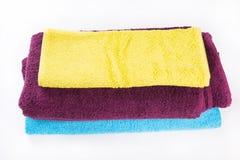 Ręczniki w studiu Obraz Stock