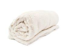 ręcznikowy biel Obrazy Royalty Free
