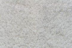 ręcznikowy tekstura biel Zdjęcie Royalty Free