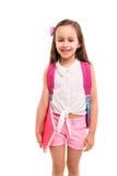 ¡1r día de escuela! Foto de archivo libre de regalías