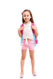 ¡1r día de escuela! Fotografía de archivo