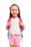 ¡1r día de escuela! Imagen de archivo libre de regalías