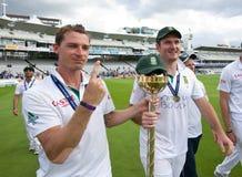 1r día 5 del test match de Inglaterra v Suráfrica Imagen de archivo
