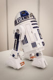 R2-D2在机器人和制造商展示的模型 库存图片