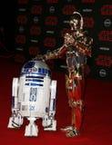 R2-D2和C-3PO 免版税库存照片