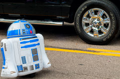 R2-D2 in parade Stock Photography