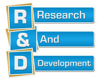 R And D - Research And Development Blue Vertical Stock Photos