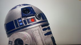 R2D2 Royalty Free Stock Photo