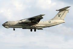 R11-003 de Luchtmacht van Pakistan, Ilyushin IL-78M Midas Stock Afbeelding