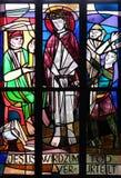 ?r des gares de la croix, Jésus est condamnées à la mort Photo stock