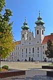 ` R di GyŠdel quadrato di Széchenyi fotografie stock libere da diritti