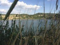 ?r?dziemnomorski jezioro obraz stock