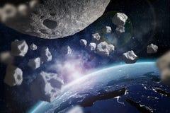 r Elemente dieses Bildes geliefert von der NASA Lizenzfreies Stockfoto
