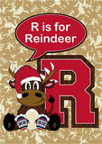 R est pour le renne Photos libres de droits