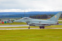 R A F eurofighter typhoon Stock Photos