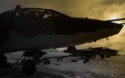 R.A.F. SU-25 lizenzfreie stockfotos