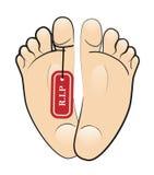 r I нога p иллюстрация штока