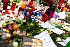R.I.P. Michael Jackson - Praag Stock Afbeeldingen