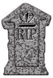 R.I.P. tombstone isolated Stock Photos