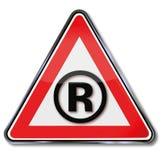 R i znak firmowy Fotografia Stock
