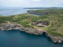 r Ilha de Nusa Penida, Indonésia fotos de stock royalty free
