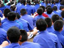 ?r Jour d'école Photos libres de droits