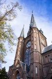 r K Kerk St Bonifatius arkivbilder