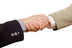 ręk target547_1_ biznesowi ludzie Obraz Stock