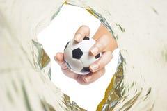 ręka balowy klingeryt Obrazy Stock