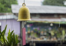Ręka Bell Zdjęcie Stock