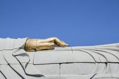 Ręka Buddha, Bombarral, Portugalia Zdjęcia Royalty Free