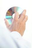 ręka cd Zdjęcie Royalty Free