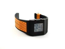 ręka cyfrowy zegarek Obraz Stock
