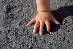 ręka dziecka Obrazy Royalty Free