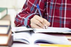Ręka dziecka writing Fotografia Stock