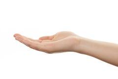 ręka gestu manicure kobiety Zdjęcia Royalty Free