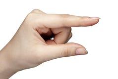 Ręka gesty Obraz Royalty Free