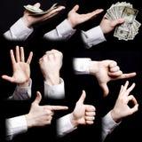 ręka grupy Obrazy Stock