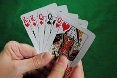 ręka grzebak zdjęcia royalty free