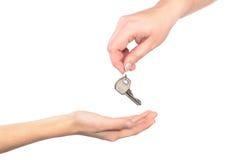 ręka inny klucz jeden zdjęcia royalty free