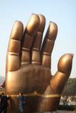 ręka jest buddha Fotografia Stock