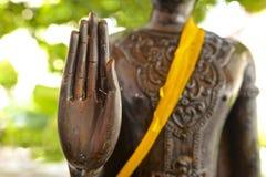 ręka jest buddha Zdjęcia Royalty Free