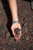 ręka kamienie Obraz Royalty Free