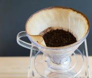 Ręka kapinosa kawa Zdjęcie Royalty Free