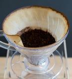 Ręka kapinosa kawa Obraz Royalty Free