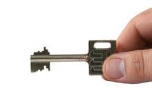 ręka klucz Fotografia Stock