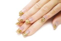 ręka manicure kobieta zdjęcie stock