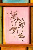Ręka symbol Obrazy Royalty Free