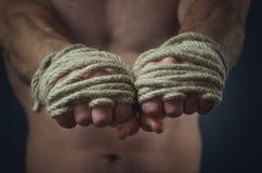 Ręka Tajlandzki bokser Zdjęcie Royalty Free