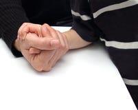 ręka wressling Zdjęcia Royalty Free